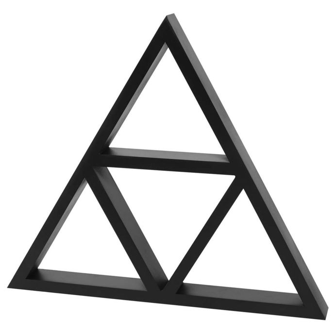 dekorace KILLSTAR - Triangle Wall Shelf