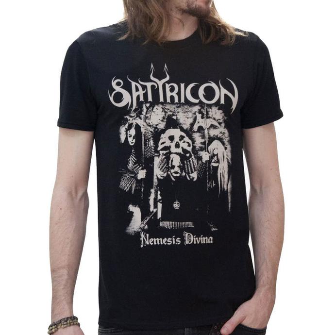 tričko pánské SATYRICON - Nemesis Reduced - Black