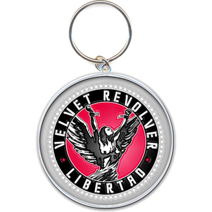 klíčenka - přívěšek Velvet Revolver (Circle Logo) - ROCK OFF