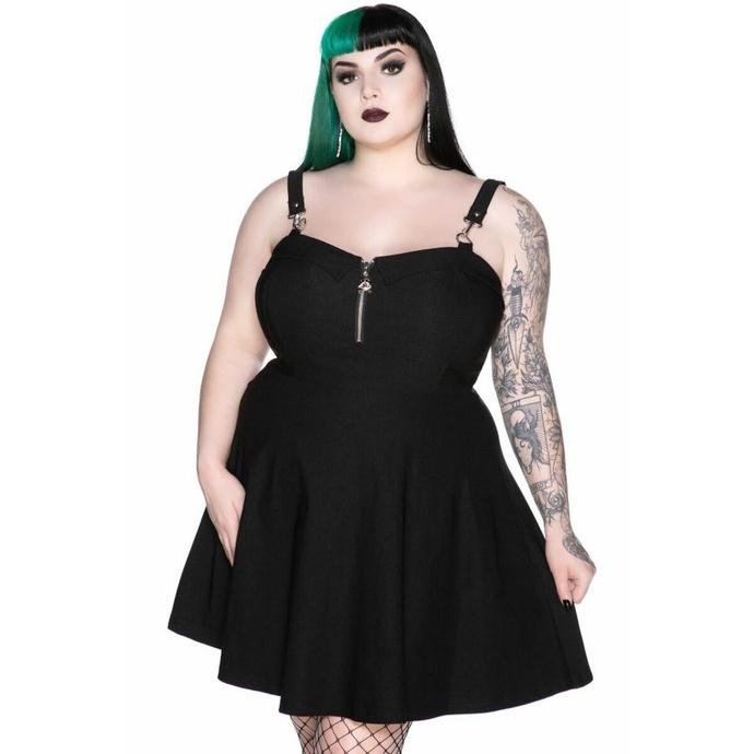 šaty dámské KILLSTAR - Wild Side - BLACK