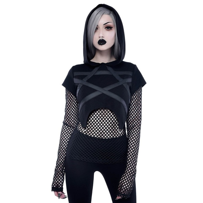 tričko dámské s dlouhým rukávem KILLSTAR - Witchnet
