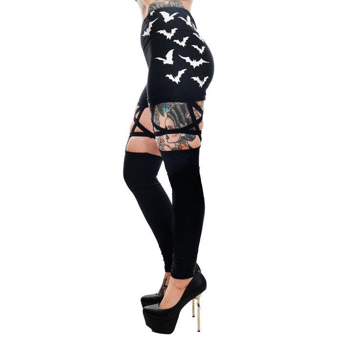 kalhoty dámské (legíny) TOO FAST - PENTAGRAM - FLYING BATS
