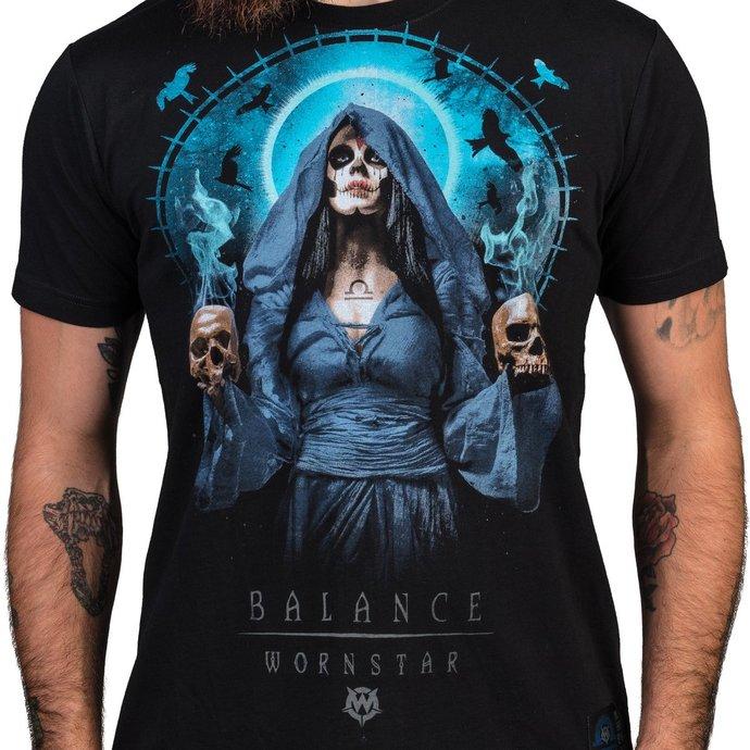 tričko pánské WORNSTAR - Balance - Black