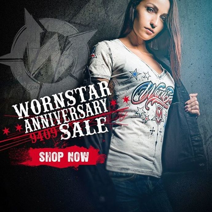tričko dámské WORNSTAR