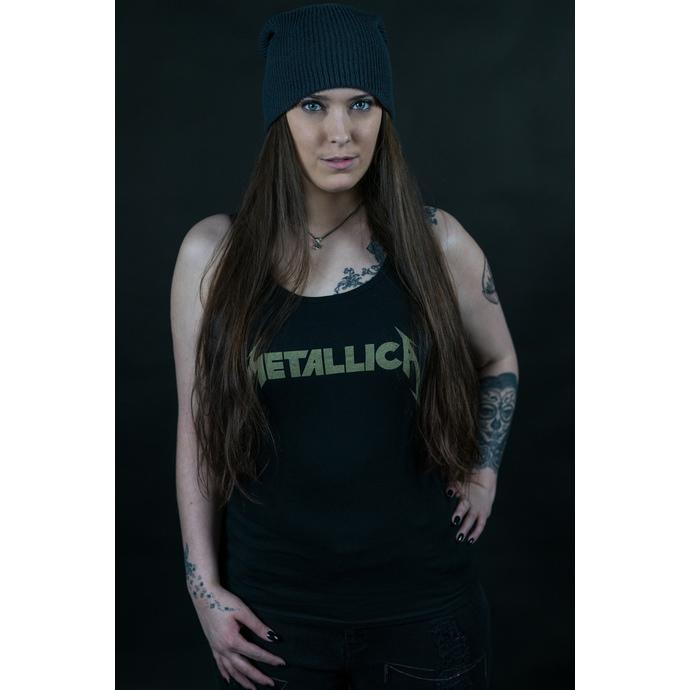 tílko dámské Metallica - Hetfield Iron Cross Guitar - Black