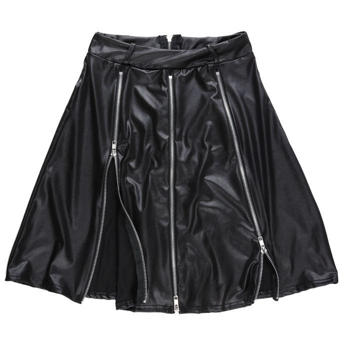 sukně dámská DISTURBIA - ZIP