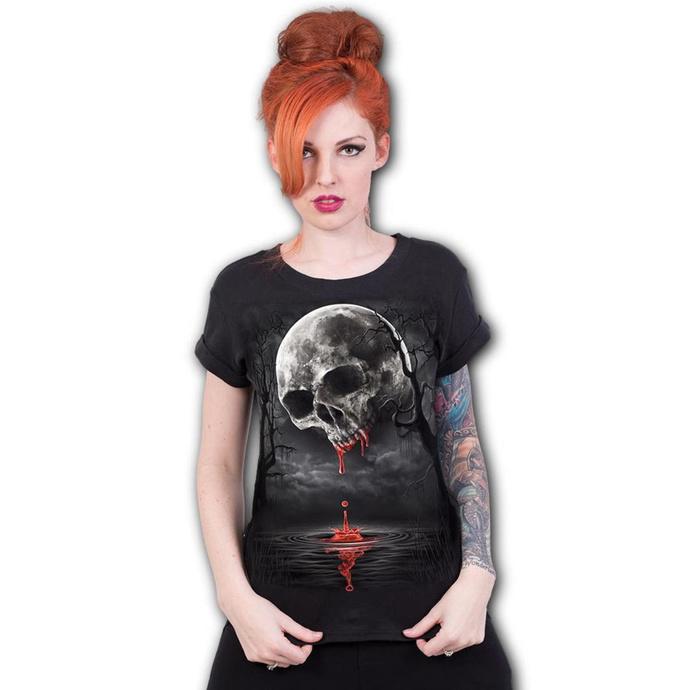tričko dámské SPIRAL - DEATH MOON - Black