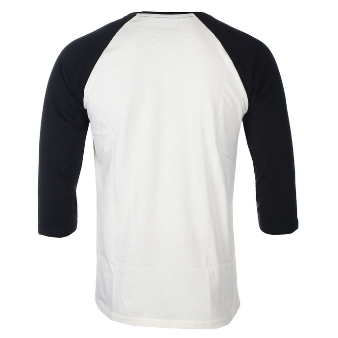 tričko pánské s 3/4 rukávem RAMONES - CLASSIC LOGO - ECRU / BLACK RAGLAN2 - GOT TO HAVE IT