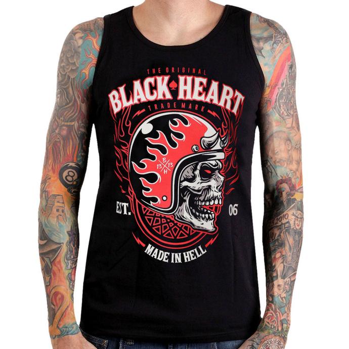 tílko pánské BLACK HEART - HATTER - BLACK