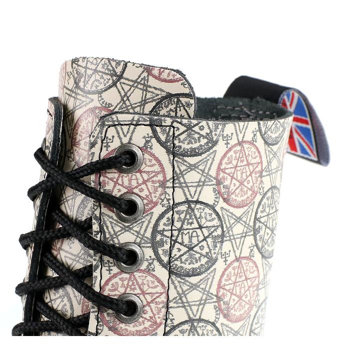 boty STEADY´S - 10 dírkové - Ekri Pentagram