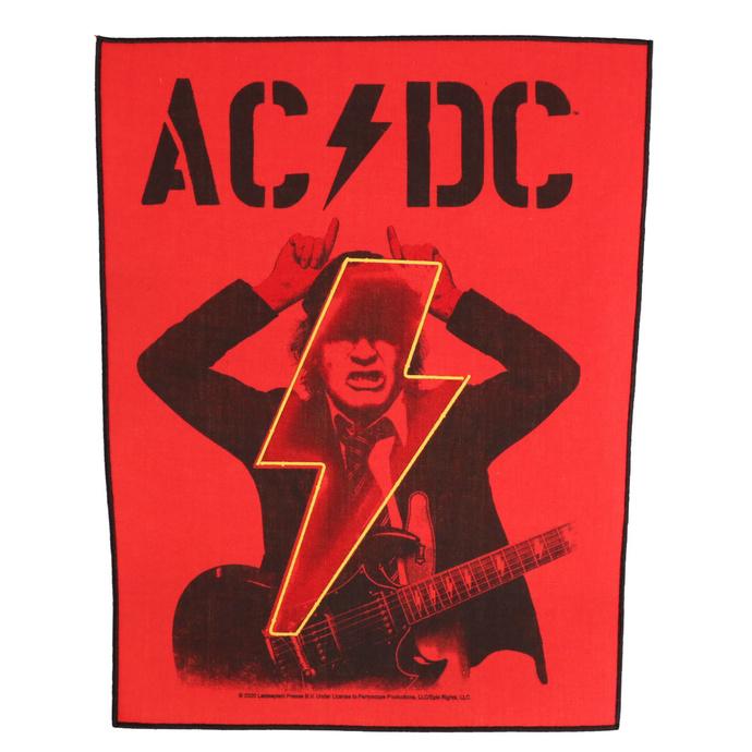 nášivka velká AC/DC - POWER UP - Angus - RAZAMATAZ