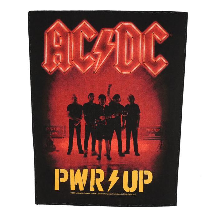 nášivka velká AC/DC - POWER UP - Band - RAZAMATAZ