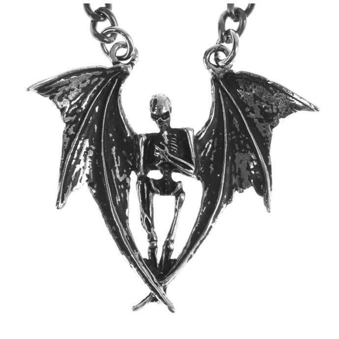 obojek Skull/Wings