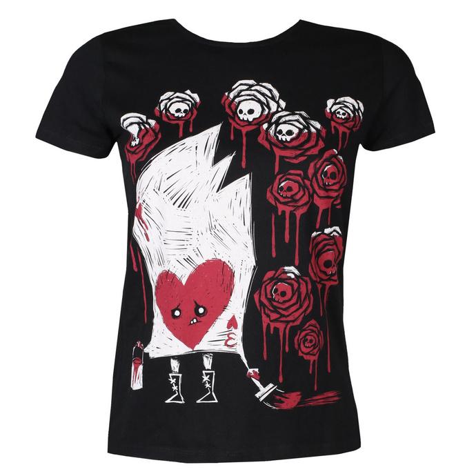 tričko dámské AKUMU INK - Painting The Roses