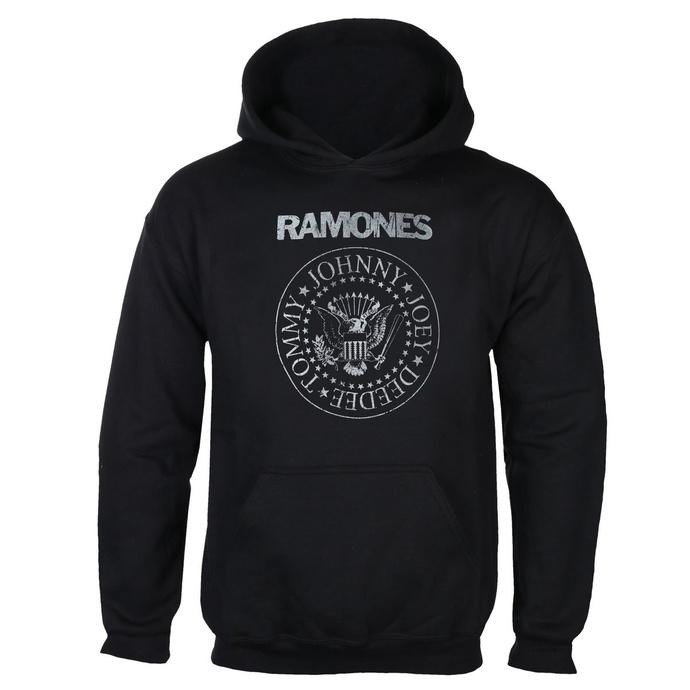 mikina pánská RAMONES - CLASSIC LOGO - BLACK - GOT TO HAVE IT