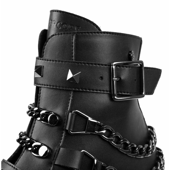 boty dámské ALTERCORE - Virgo - Vegan Black