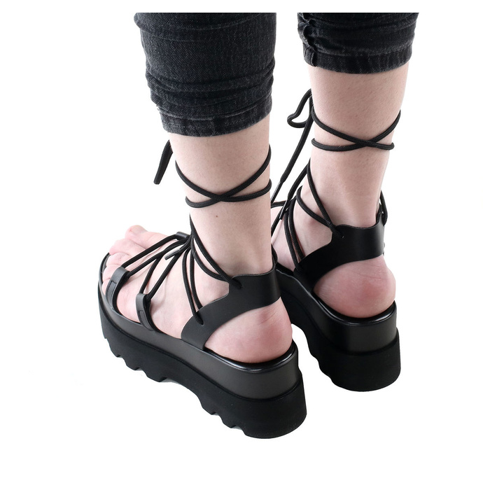 boty dámské (sandály) ALTERCORE - Sue - Black
