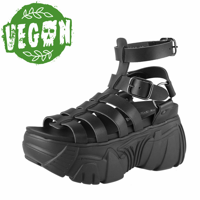 boty dámské (sandály) ALTERCORE - Pompeii Vegan - Black