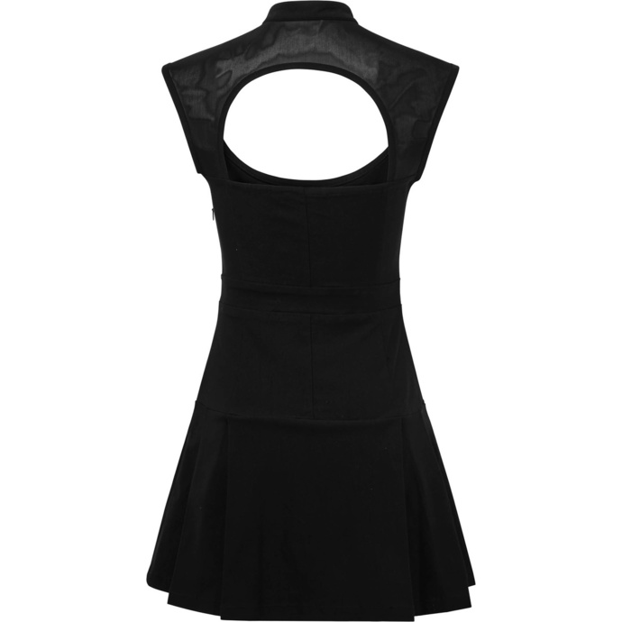 šaty dámské KILLSTAR - Amplified Skater - BLACK