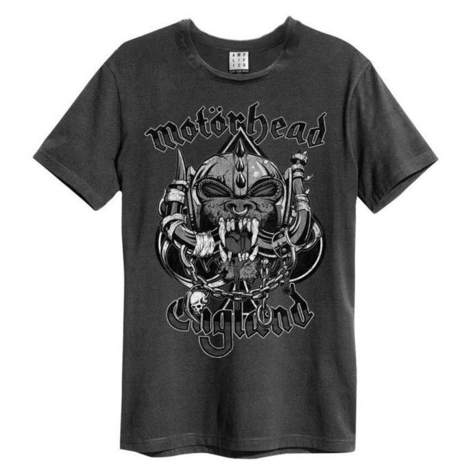 tričko pánské Motorhead - Snaggletooth Crest - AMPLIFIED