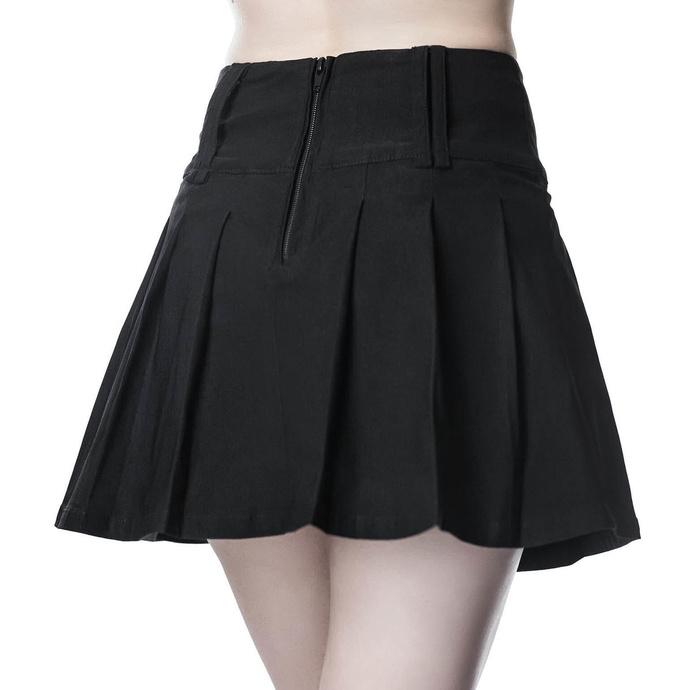 sukně dámská KILLSTAR - Analog Mini - BLACK