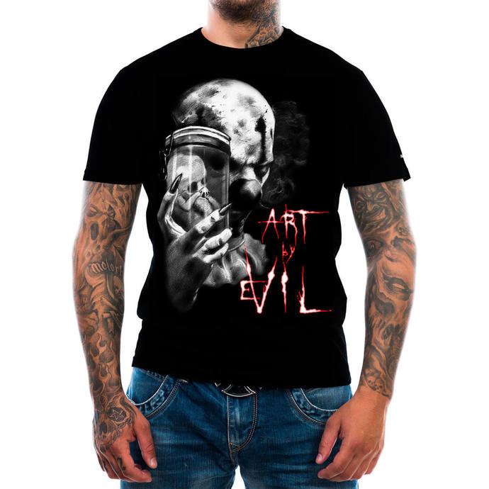 tričko pánské ART BY EVIL -  Andrey Skull 2
