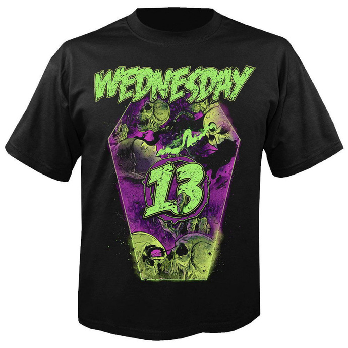 tričko pánské WEDNESDAY 13 - Coffin - NUCLEAR BLAST