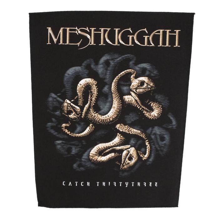 nášivka velká MESHUGGAH - CATCH 33 - RAZAMATAZ