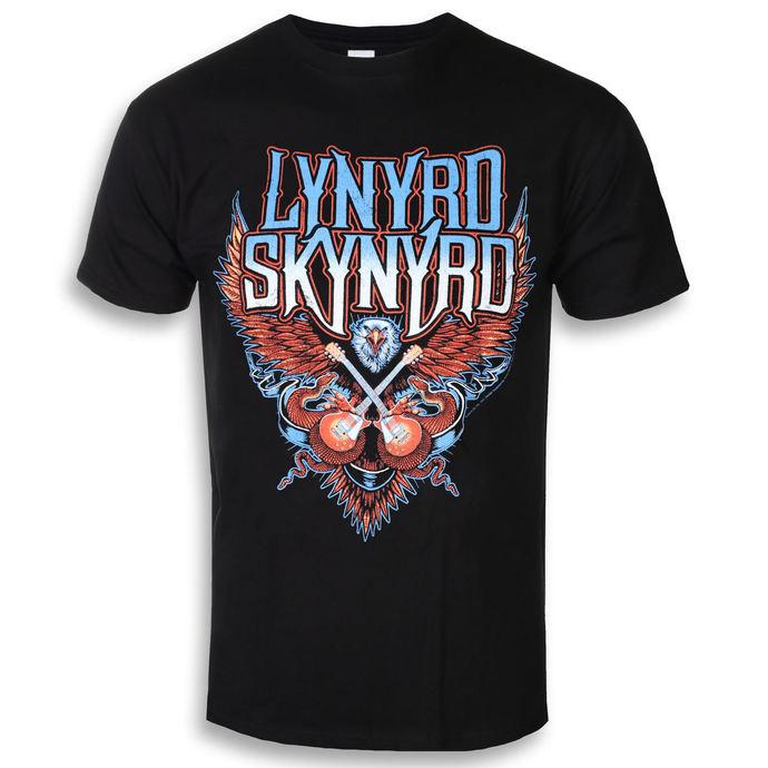tričko pánské Lynyrd Skynyrd - Crossed Guitars - PLASTIC HEAD