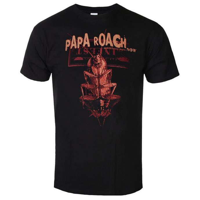 tričko pánské Papa Roach - We Are Going To Infest - Black - KINGS ROAD