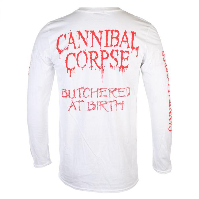 tričko pánské s dlouhým rukávem CANNIBAL CORPSE - BUTCHERED AT BIRTH - PLASTIC HEAD