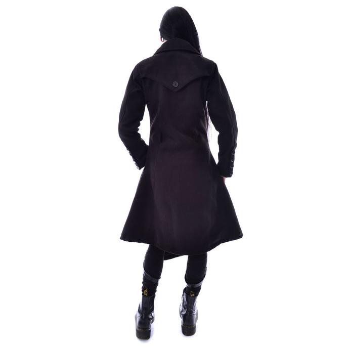 kabát dámský POIZEN INDUSTRIES - AUSTRA - BLACK