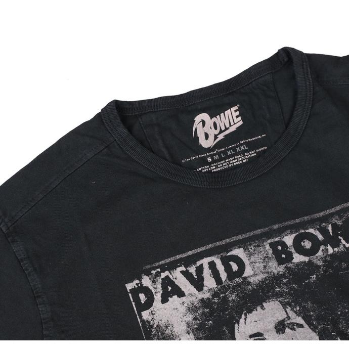 tričko pánské Bowie - Vtge Ziggy Live - ROCK OFF