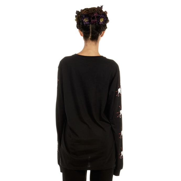 tričko s dlouhým rukávem unisex DISTURBIA - Frida Flowers