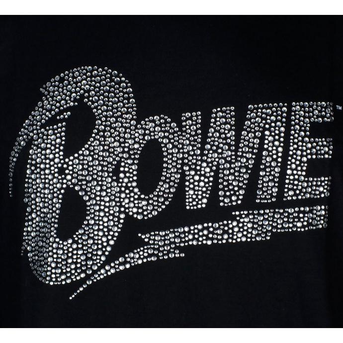 tričko pánské David Bowie Flash - Logo - ROCK OFF