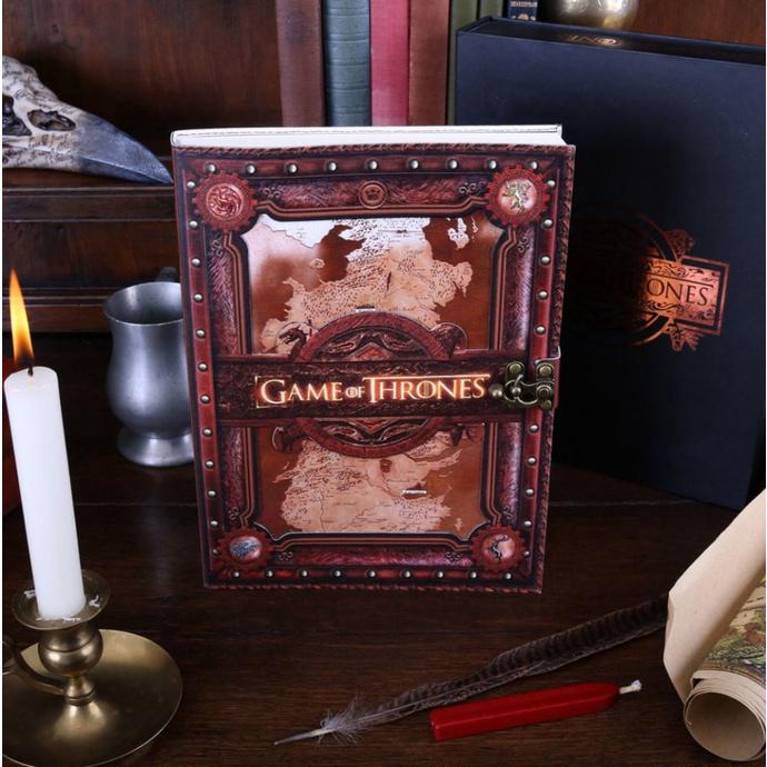 poznámkový blok Game of thrones - Seven Kingdoms