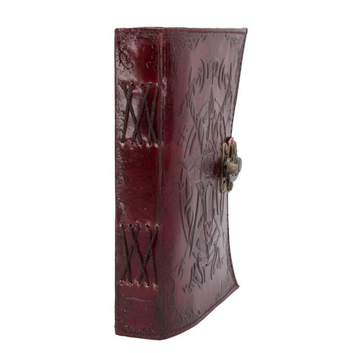 poznámkový blok Baphomet - Leather