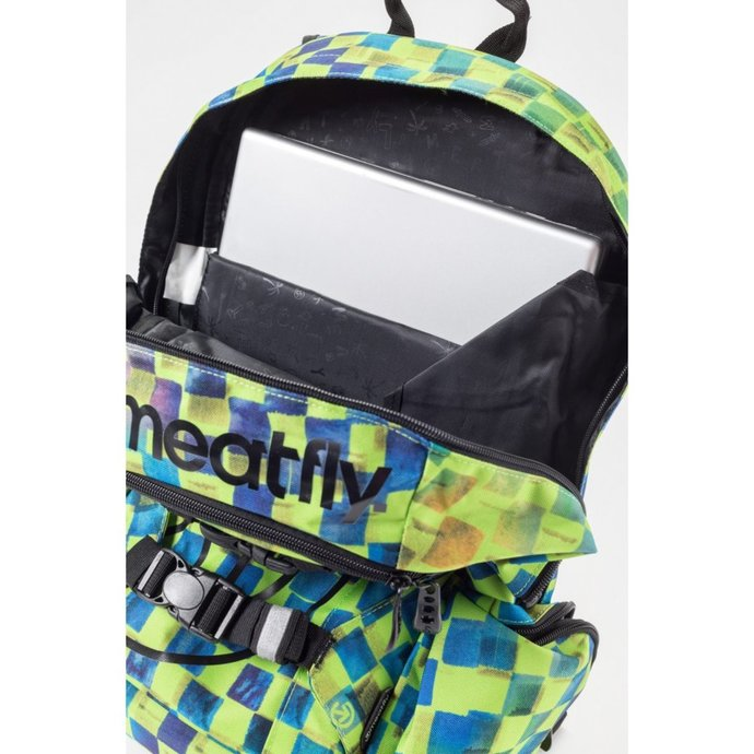 batoh MEATFLY - Basejumper 3 - J Cross Green