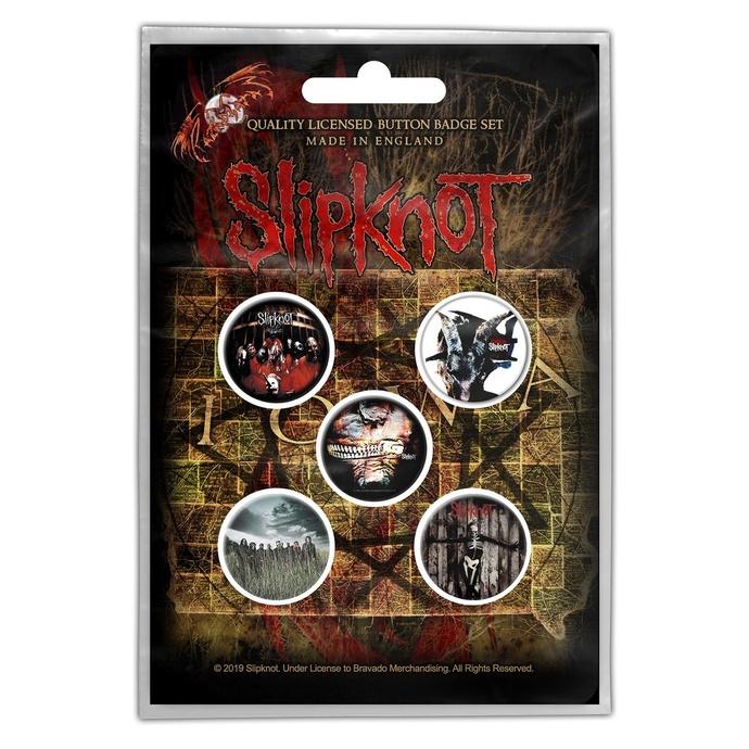 placky Slipknot - Albums