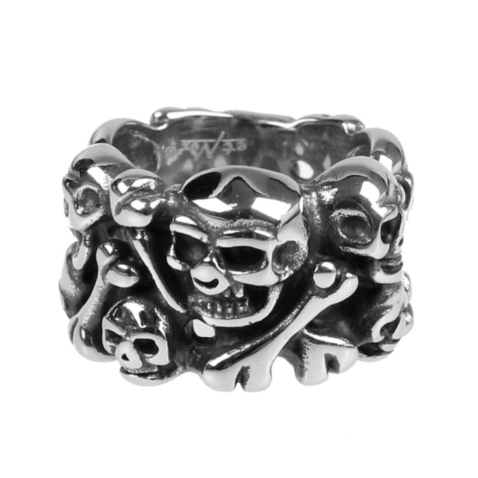 prsten ETNOX - Skulls