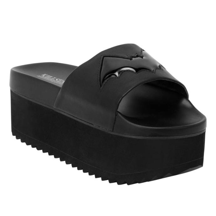boty dámské (sandály) KILLSTAR - Bloodbath Slides