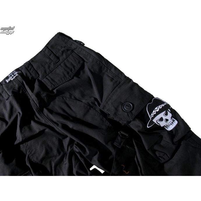 kalhoty pánské BOOTS & BRACES - Pant Nightmare - Black - 300616