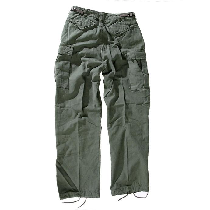 kalhoty pánské MMB - M65 Pant NYCO washed - OLIV