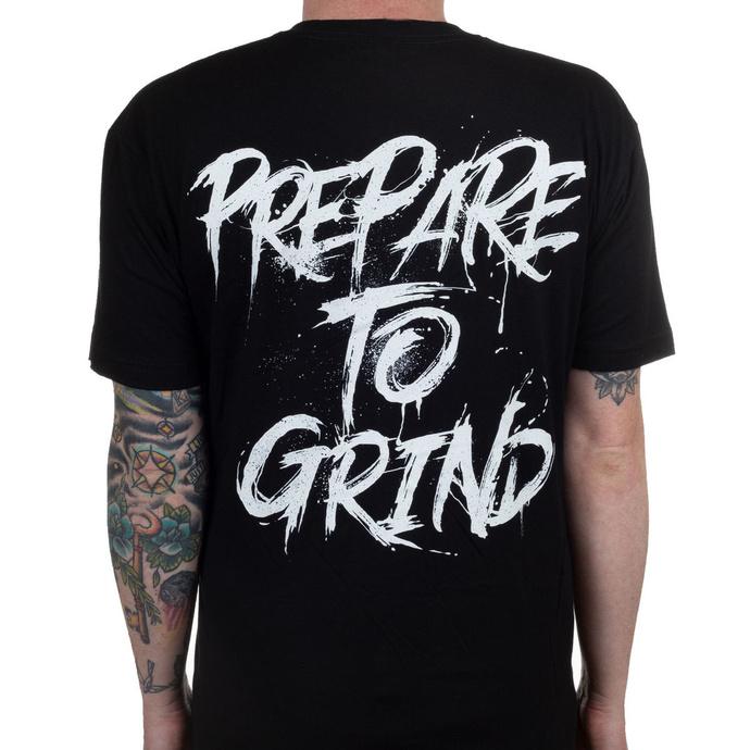 tričko pánské ABORTED - Prepare To Grind - Black - INDIEMERCH