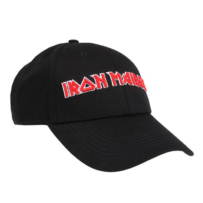 kšiltovka Iron Maiden - Logo - ROCK OFF