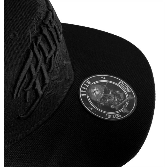 kšiltovka HYRAW - Casquette - HOSTILE BLACK