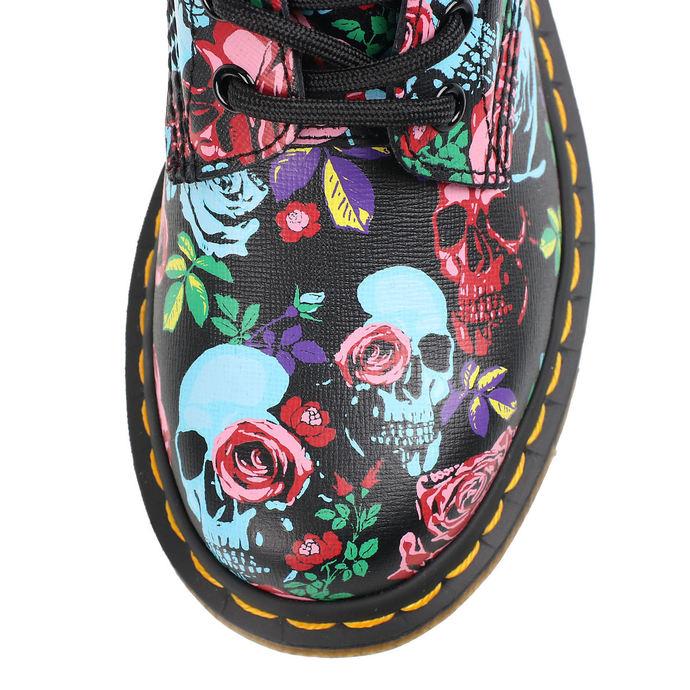 boty DR. MARTENS - 8 dírkové - 1460 PASCAL ROSE