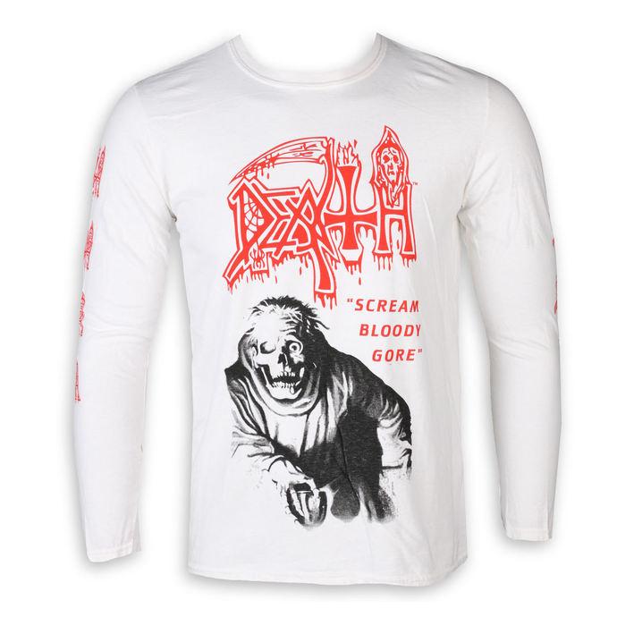 tričko pánské s dlouhým rukávem DEATH - SCREAM BLOODY GORE - PLASTIC HEAD