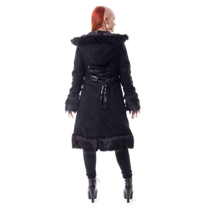 kabát dámský Poizen Industries - DARK MASE - BLACK
