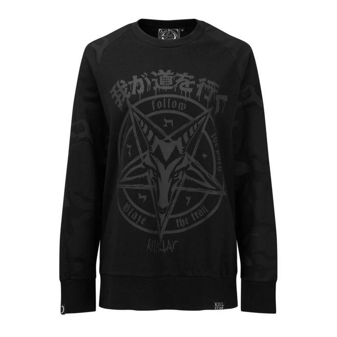 mikina unisex KILLSTAR - Darkpaths Camo